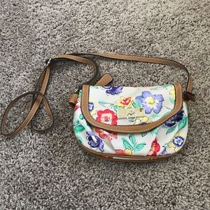 Rosetti Floral Crossbody Purse